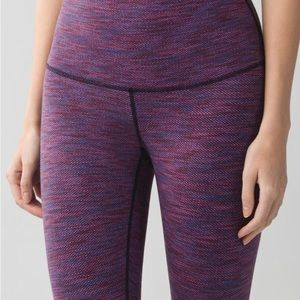 Lululemon Diamond Jacquard Wunder Under